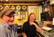 Bee Spears Mark Dreyer in the studio